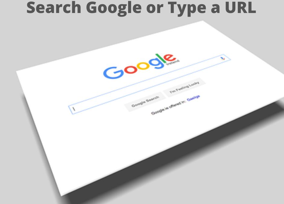 Updates 2022 search google or type a URL Bluedigital